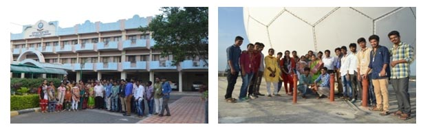 Indian Meteorological Department- Begumpet -College Visit-Civil Engineering